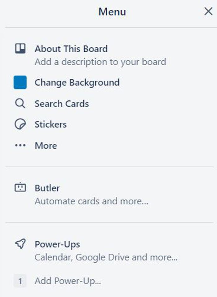 trello card example marketing calendar
