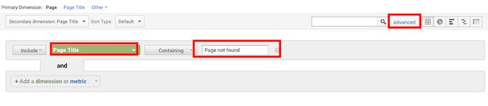Behebung von 404-Fehlern Seach Console