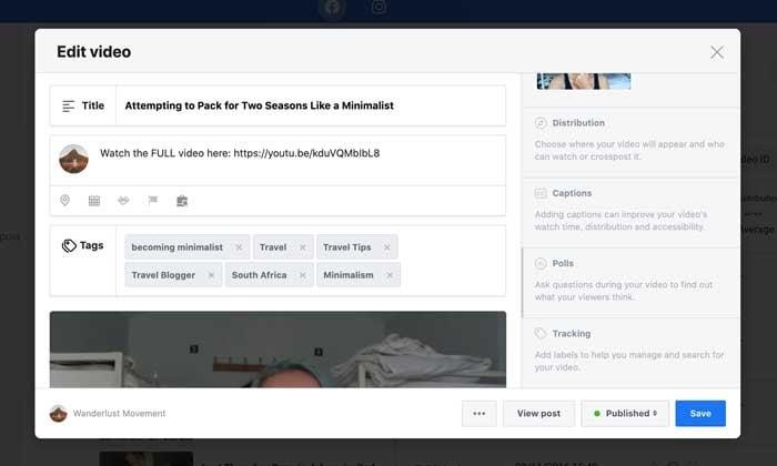 Facebook polls to add a video poll
