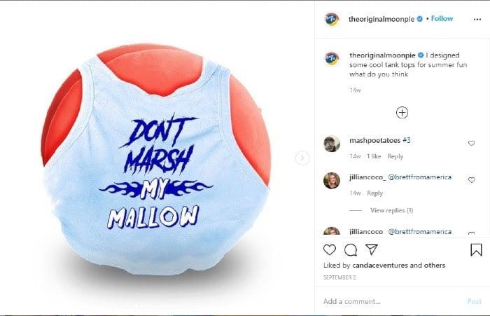 Moonpie Instagram Memes für Marketing