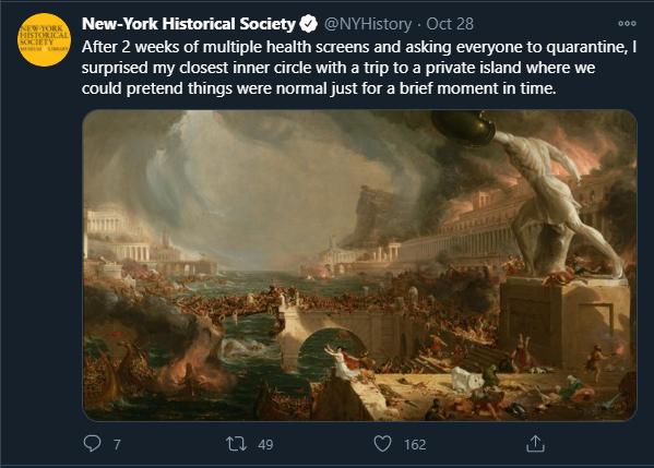 Memes der New York Historical Society