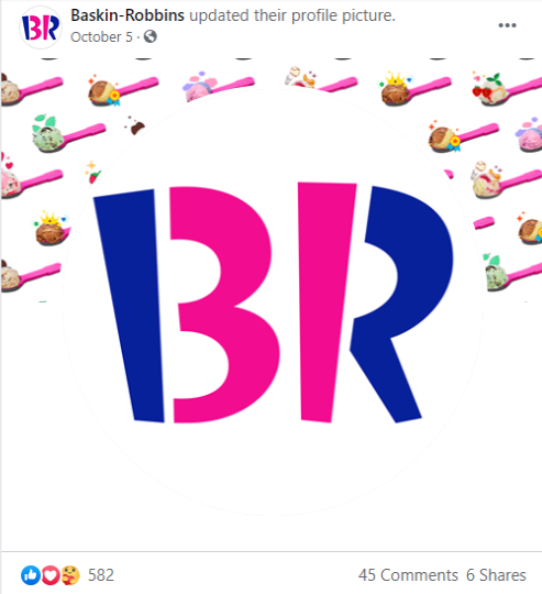 Subliminal messaging Example of Baskin Robbins
