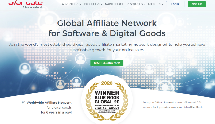 Top Affiliate Networks Avangate