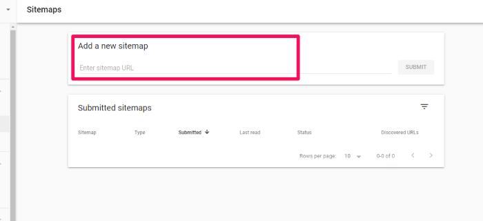 soumettre un plan du site à google