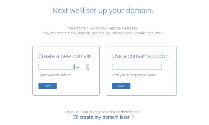 how to start a wordpress blog choose a domain