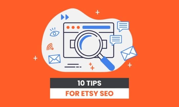 10 tips for etsy SEO