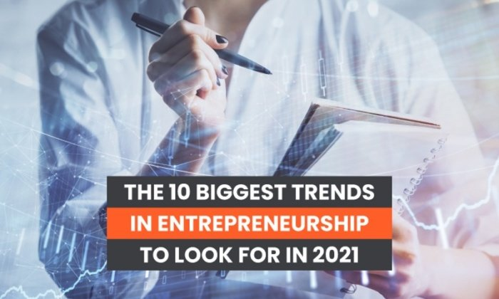 The 10 Biggest Trends in Entrepreneurship to Look For in 2021