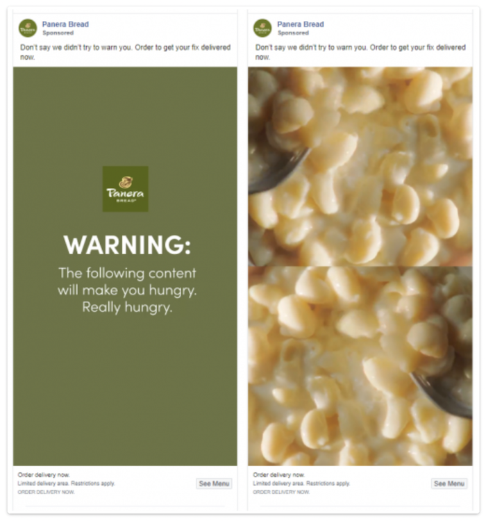 Examples of Great Food Promotion - Panera Bread