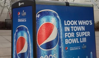 Examples of Great Out-of-Home Advertising - Pepsi bus kiosk