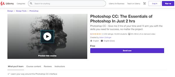 Online Photoshop Classes Online - Udemy
