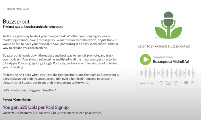 Strategies to Get Podcast Sponsors - Partner With a Hosting Service