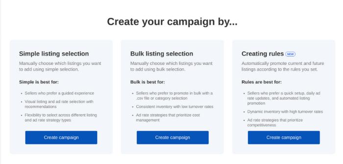 eBay-Anzeigen - Erstellen Sie Ihre beworbenen Angebote