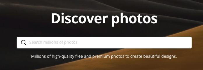 Find Image Sources - Canva