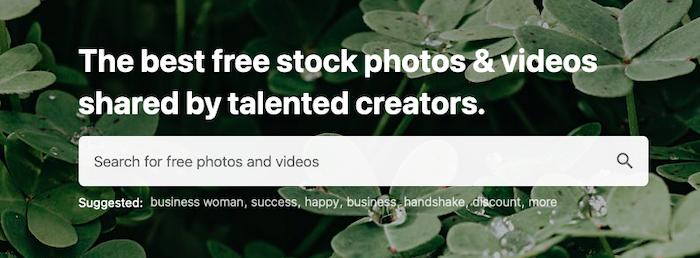 Find Image Sources - Pexels