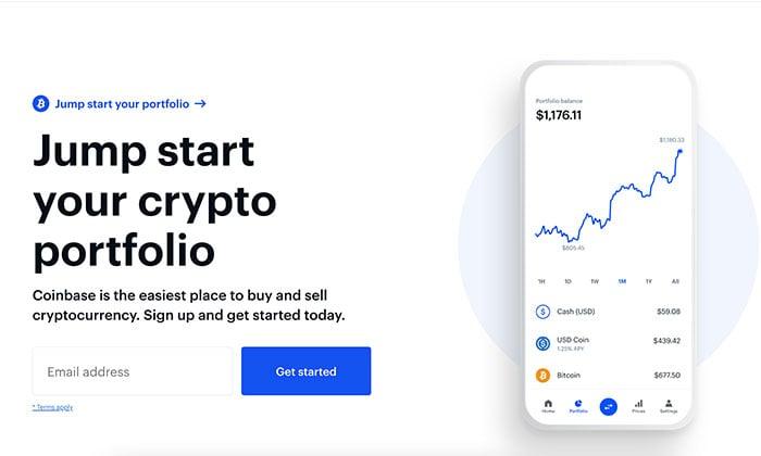 formulir pendaftaran perusahaan cryptocurrency blockchain, coinbase