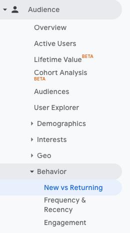 subscriber count - Google Analytics