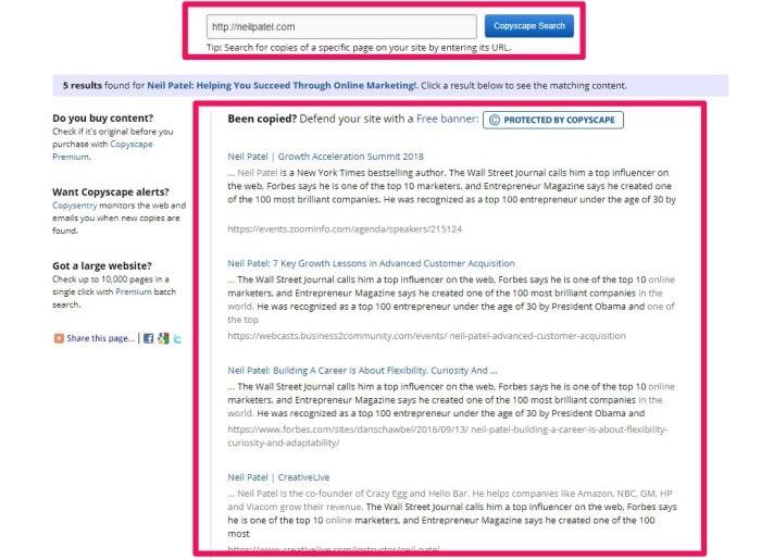 technical seo audit plagiarism