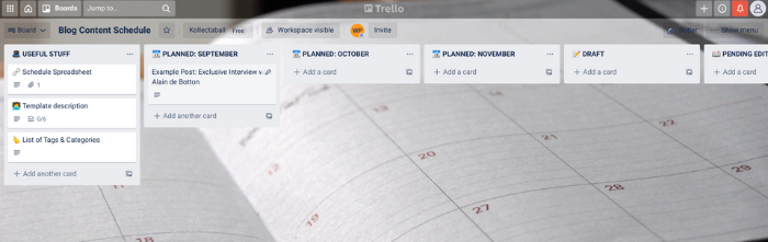 Content Marketing Tactics That'll Skyrocket Your Search Traffic - Create an Editorial Calendar