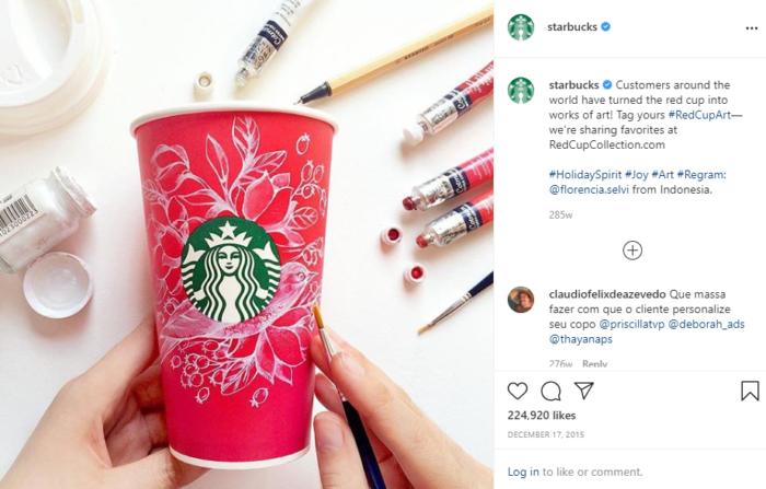 digital marketing strategy starbucks