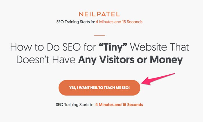 host a free webinar or training to collect inbound marketing leads