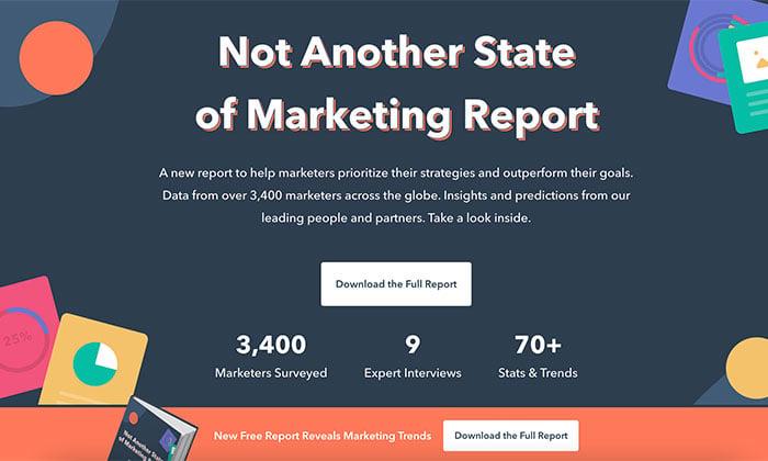 hubspot state of inbound marketing report