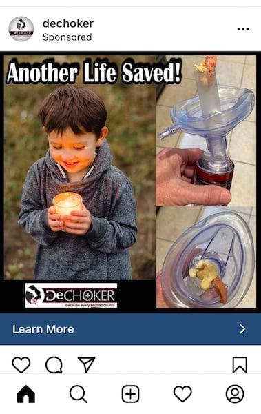Examples of Great Instagram Ads - Dechoker