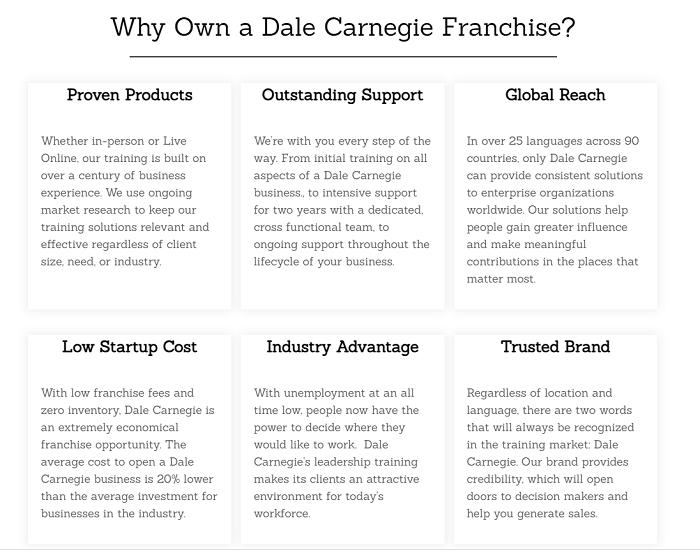 Great Franchise Business Ideas - Training Franchise
