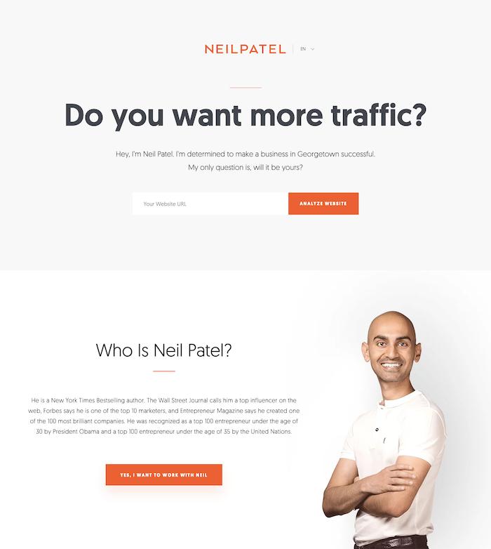 Meta Tags And Design Neil Patel Website