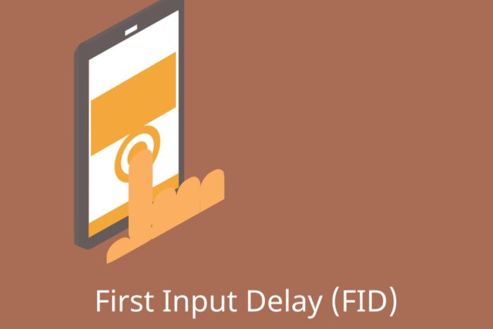 SEO interatividade FID first input delay