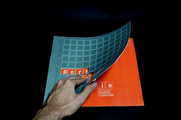 exemplo portfolio impresso