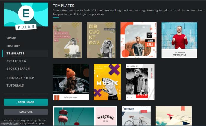 Social Media Tools for Visual Content Creation - Pixlr