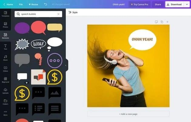 Social Media Tools for Visual Content Creation - Canva