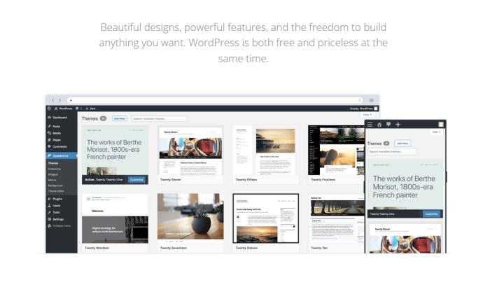 WordPress themes for Best Blogging Platforms