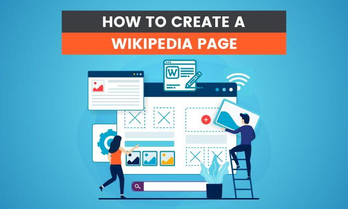 Cómo crear una página de Wikipedia