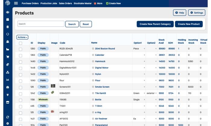 Cin7 interface for Best Inventory Management Software