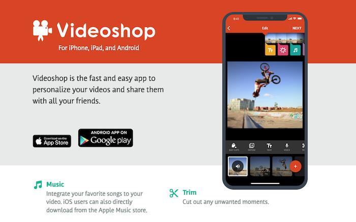 Tools for Editing TikTok Videos - Videoshop