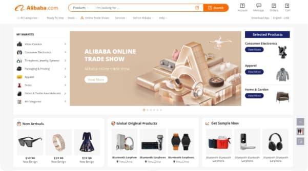 Top Niche Marketplaces B2B - Alibaba