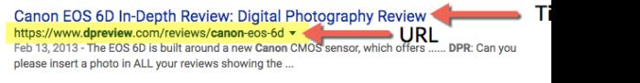 Using descriptive URLs helps improve your organic CTR.