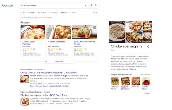 جستجوگرها برای توسعه دهندگان - داده های ساختار یافته