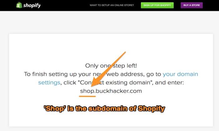 Shopify free subdomain for How to Get a Free Domain Name