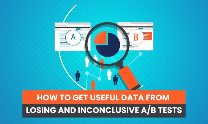 نحوه بدست آوردن داده های مفید از آزمون های A/B بازنده و بدون نتیجه