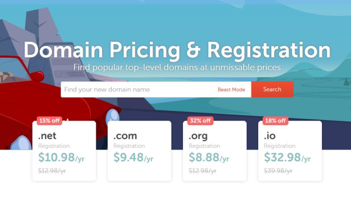 Namecheap TLD pricing for Best Domain Registrars