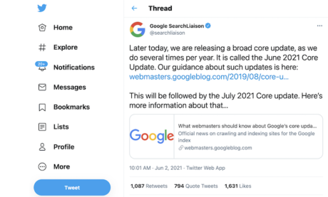 How to Deal with the June Google Core Update