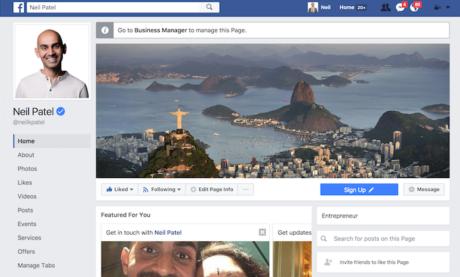 Welche Informationen musst Du in jedem Bereich Deiner Facebook-Seite zur Verfügung stellen, um maximales Engagement zu erreichen?
