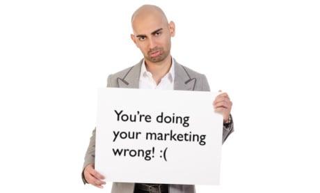 Você Está Fazendo Seu Marketing Errado (E Eu posso Te Provar Isso)